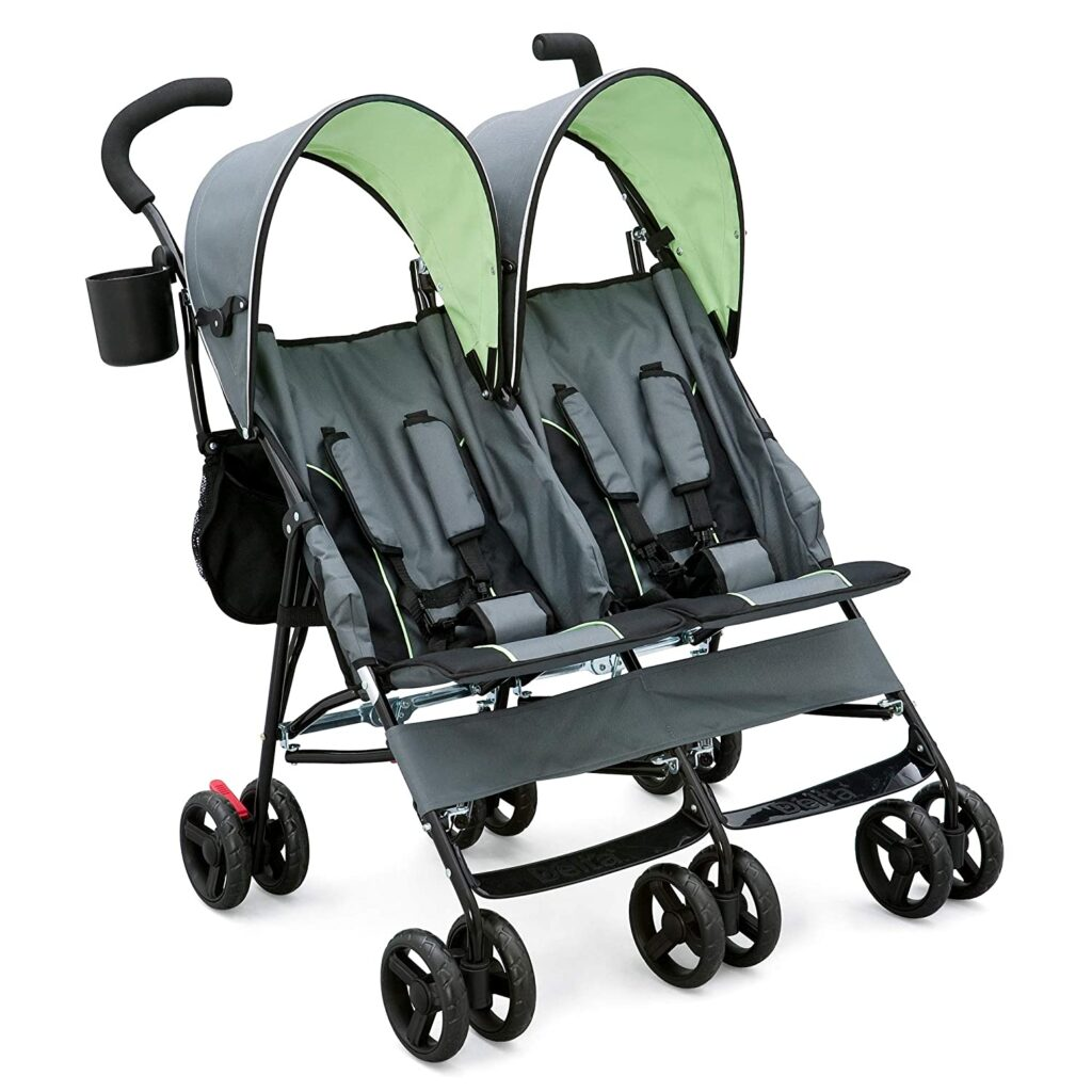 Delta-double-stroller