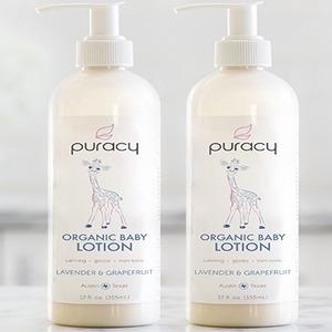 puracy baby lotion