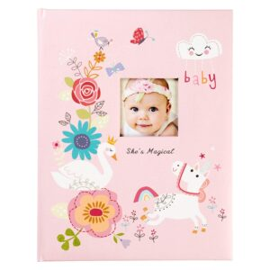 Gibson-shes-Magical-Pink-Baby-Memory-Book