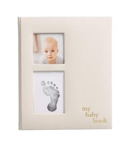 Pearhead-Linen-Baby-Memory-Book