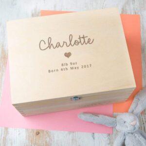 Personalized-Baby-Keepsake-Box