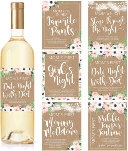 6-Mommy's-First-Milestone-Stickers-Wine-Labels