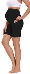 Foucome-Womens-Maternity-shorts