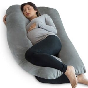 PharMeDoc U-Shaped Pregnancy Pillow