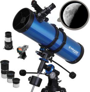 Meade Reflecting Stargazing Astronomy Telescope