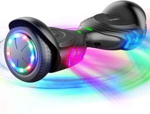 TOMOLOO Music-Rhythmed Hoverboard for Kids