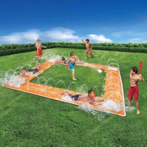 BANZAI Baseball Water Slide
