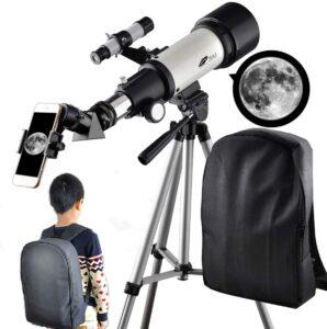 SOLOMARK Refractor Portable Telescope