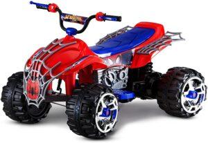 Kid Trax Marvel Spiderman Toddler ATV