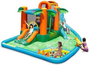 Costzon Inflatable Water Park