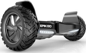"EPIKGO All-Terrain 8.5"" Alloy Wheel Self Balancing Scooter Hover"