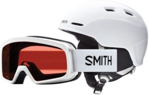 Smith Youth Zoom Jr/Gambler Snow Helmet & Goggle Combo