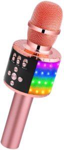 BONAOK Bluetooth Wireless Microphone