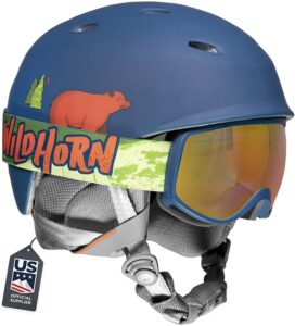 Wildhorn Spire Snow & Ski Helmet w/Goggles