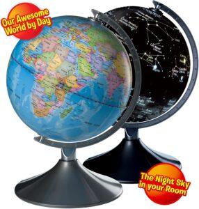 Kidzlane 2 in 1 Interactive Globe for Kids