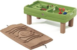 Step2 Naturally Playful Kids Sand & Water Table with Umbrella