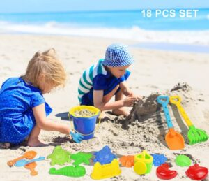 Click N Play 18Piece Beach Sand Toy Set