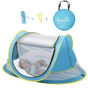 SUNBA YOUTH Baby camping bed