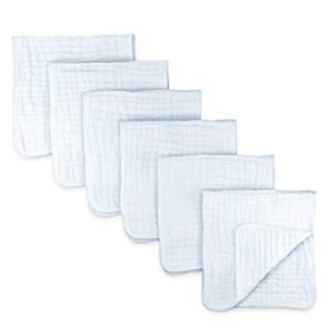 Muslin Burp Cloths 6 Pack