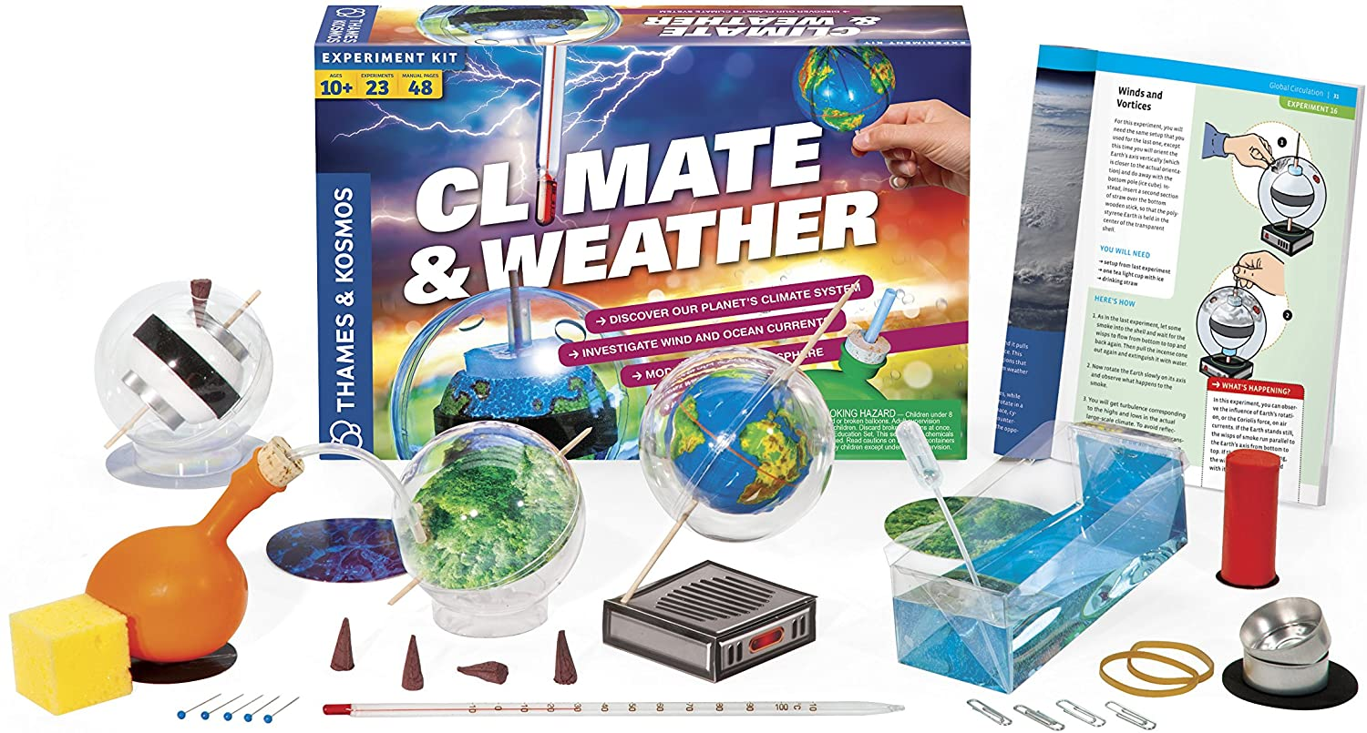 Thames & Kosmos Climate & Weather Science Kit