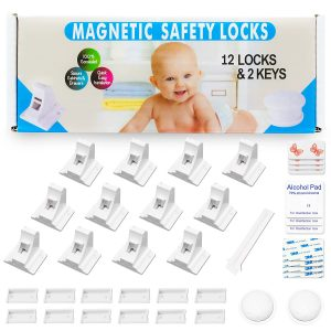 Eco-Baby Child Safety Magnetic Cabinet and Drawer Locks