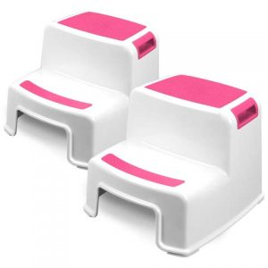 Two Step Kids Step Stools - 2 Pack