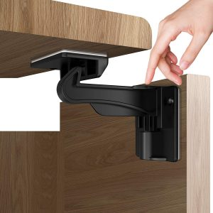 Upgraded Version 12 Pack Child Proofing Cabinet Locks