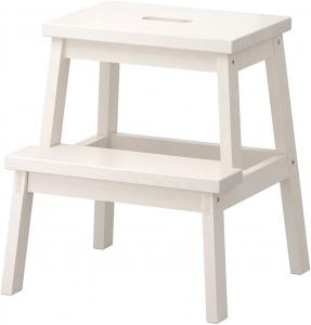 IKEA BEKVAM Home Indoor Solid Wood Step Stool