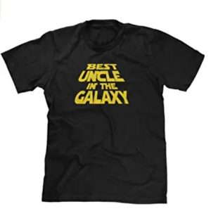 Best Uncle in The Galaxy Mens T-Shirt