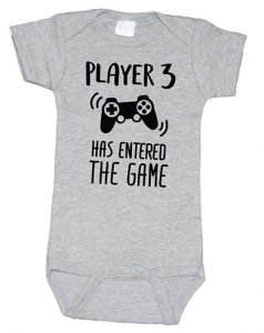 Bump and Beyond Designs Funny Gamer Pregnancy Announcement