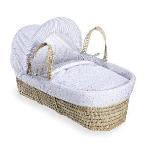 Clair de Lune Palm Moses Basket
