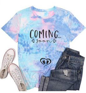 Coming Soon Shirt Women Pregnancy Announcement T Shirt