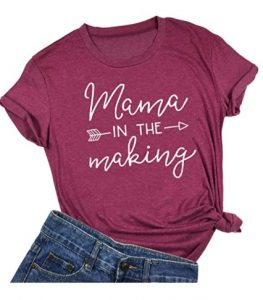 Mama in The Making Pregnancy Announcement T-Shirt