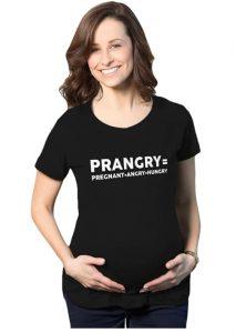 Maternity Prangry Funny T Shirt