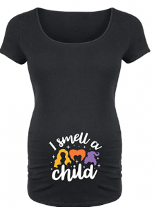 I Smell A Child - Maternity Scoop Neck T-Shirt