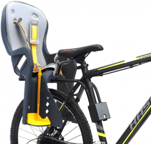 Bcyclingdeal Kids USA Standard Rear Bicycle Carrier Baby Seat